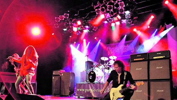 "Tribute-Band ""Purple Rising"" rockt in Gadenstedt"
