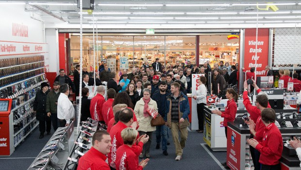Start für Media Markt im CityCarree in Salzgitter