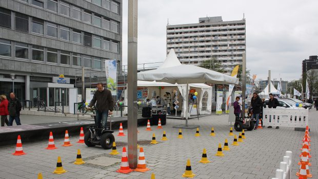 Segway-Spaß in Salzgitters City