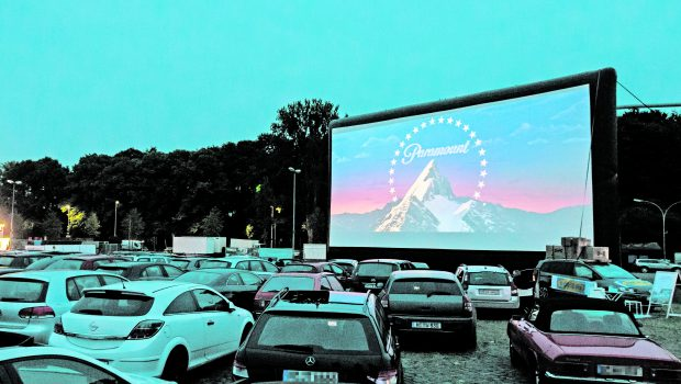 Autokino-Event in Groß Ilsede