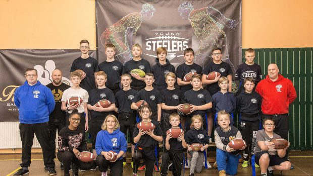 Young Steelers starten neu im American Football in Salzgitter